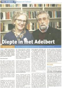 Adelbertartikel Peel en Maas 11 februari 2016